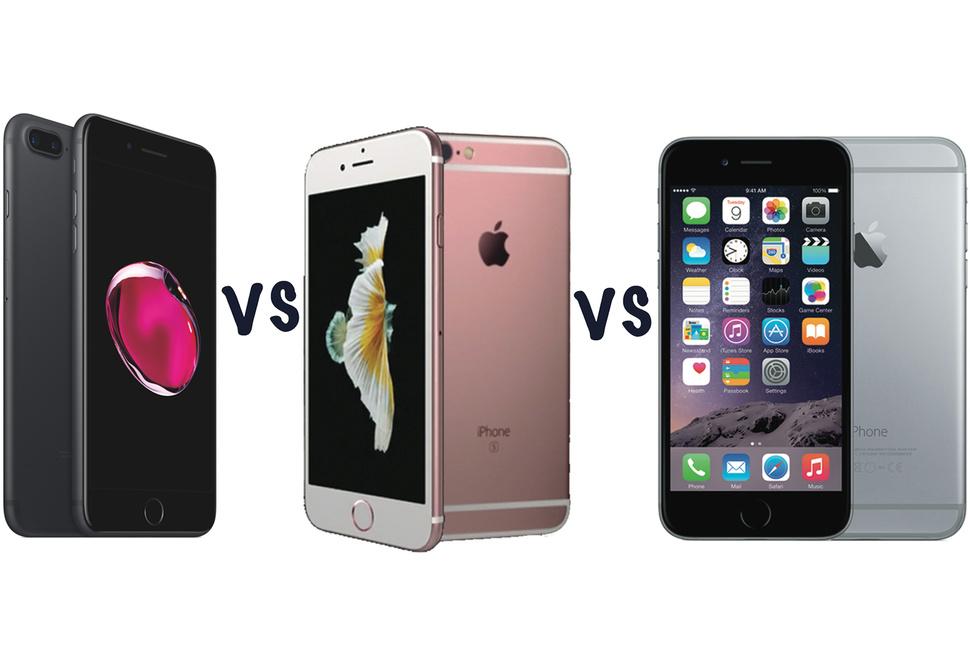 Piphone 7 plus vs iphone 6splus