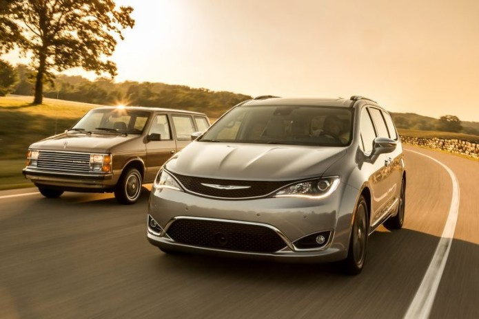 Voyager to the Pacifica: 2017 Chrysler Pacifica vs. 1984 Plymouth Voyager - Comparison Tests