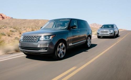 2017 Bentley Bentayga vs. 2016 Land Rover Range Rover SVAutobiography – Comparison Tests