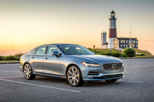 2017 VOLVO S90 T6 REVIEW