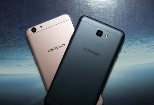 Samsung Galaxy J7 Prime vs OPPO F1s : Video Comparison