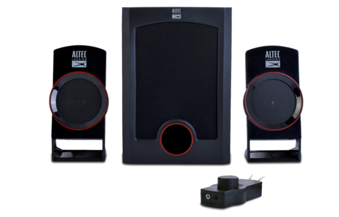 Altec Lansing Circus 2.1 Speakers Quick Review