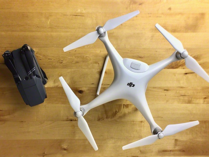 DJI MAVIC PRO vs PHANTOM 4 Comparison Review