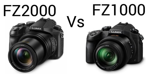 Panasonic FZ2000 vs FZ1000