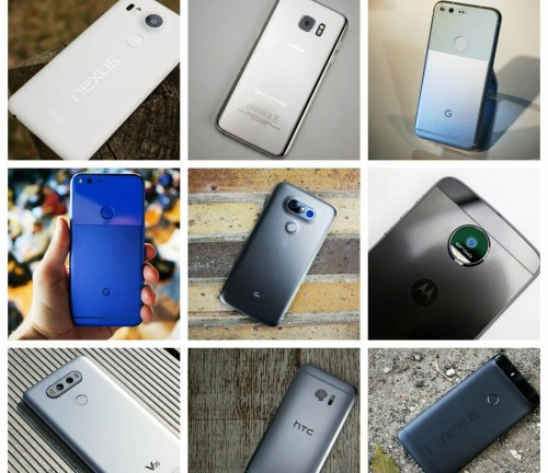 Phone Comparisons: Nexus 6P vs Nexus 5X vs LG G5 vs Galaxy S7 Edge vs HTC 10 vs Moto Z vs LG V20 vs Google Pixel XL vs Google Pixel