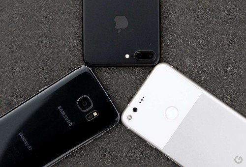 Google Pixel vs. Galaxy S7 vs. iPhone 7 : Camera Face-Off