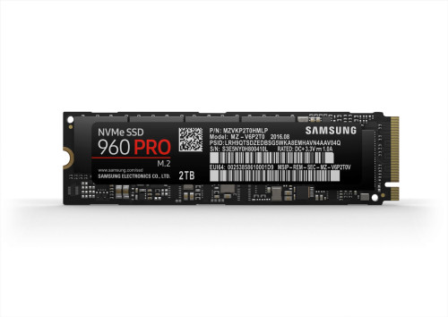 The Samsung 960 Pro (2TB) SSD Review