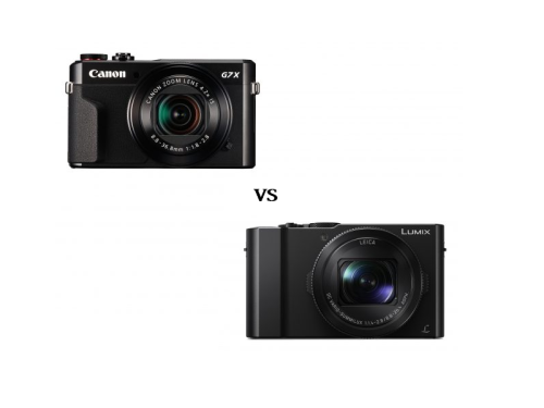 Panasonic Lumix LX15 vs Canon G7X Mark II Comparisons