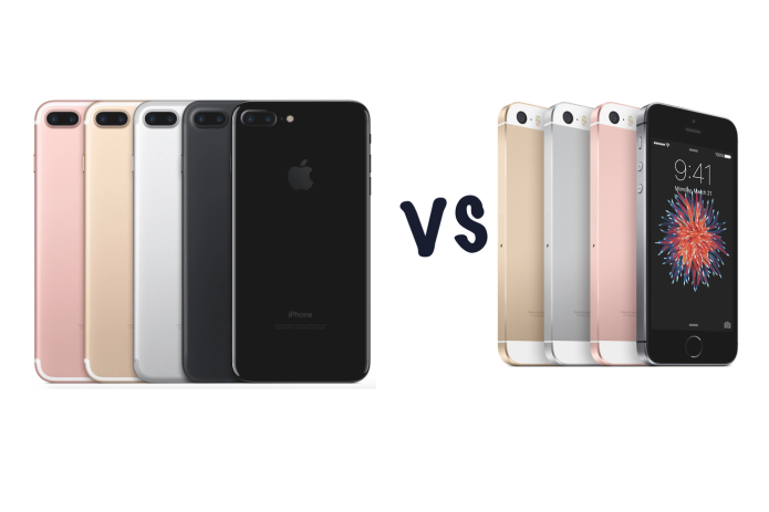 iPhone 7 vs iPhone SE : Which 2016 iPhone is best?