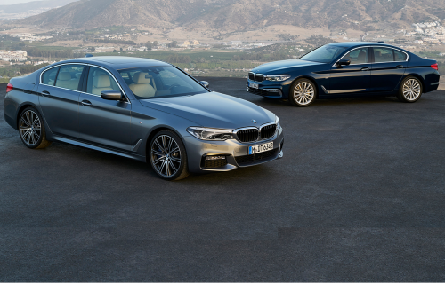 2017 BMW 5 Series revealed : Lighter new 5er heavy on technology