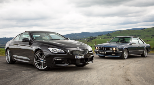 BMW 6 Series Old v New – 2016 650i v 1984 635CSi