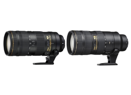 Nikon 70-200mm f/2.8E FL ED VR vs 70-200mm f/2.8G ED VR II comparison
