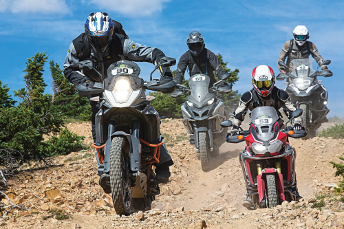 BMW R1200GS Adventure vs. Ducati Multistrada Enduro vs. Honda Africa Twin vs. KTM 1190 Adventure R – COMPARISON TEST