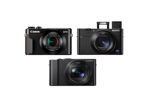 Panasonic LX15 vs Sony RX100 V vs Canon G7X II Camera Comparisons