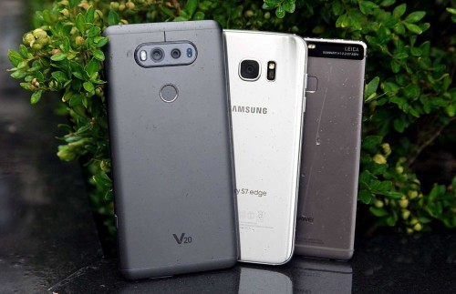 LG V20 vs Galaxy S7 vs Huawei P9 : Mega Camera Shootout
