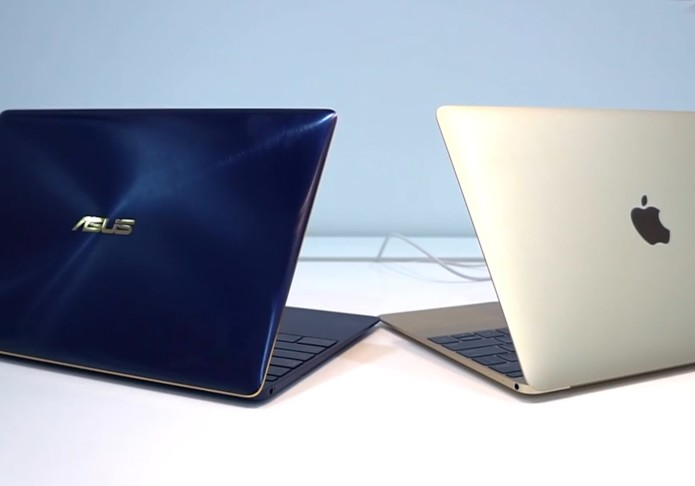 Asus ZenBook 3 vs. Apple MacBook : Super Skinny Laptop Face-Off