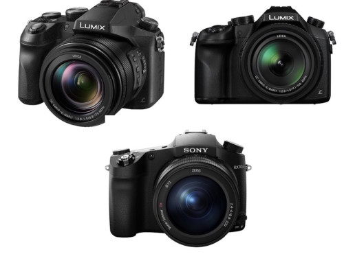 Panasonic FZ2500 vs FZ1000 vs Sony RX10 III comparison