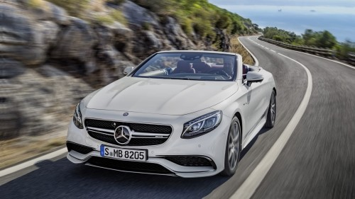 2017 Mercedes-AMG S63 Cabriolet Review: Interstellar luxury