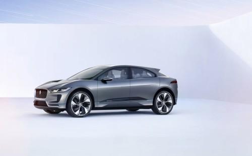 Jaguar I-PACE Concept previews Model X rivaling EV for 2018