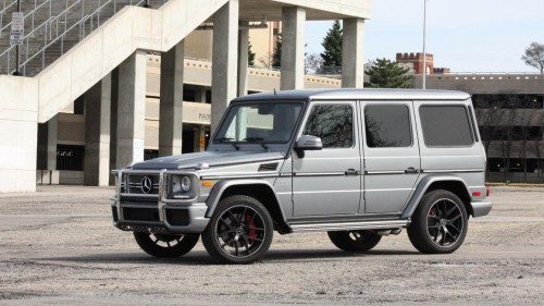 2016 Mercedes-Benz G65 AMG review