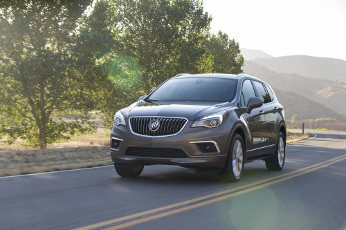 2017 Buick Envision First Drive: Room for one more?