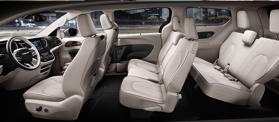 2017 Chrysler Pacifica Interior Seating