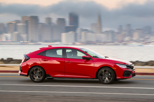 2017 Honda Civic Hatchback First Drive