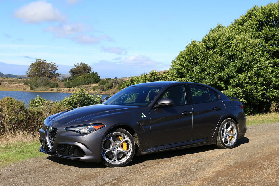 Popular 2017 ALFA ROMEO GIULIA QUADRIFOGLIO FIRST DRIVE  GearOpen