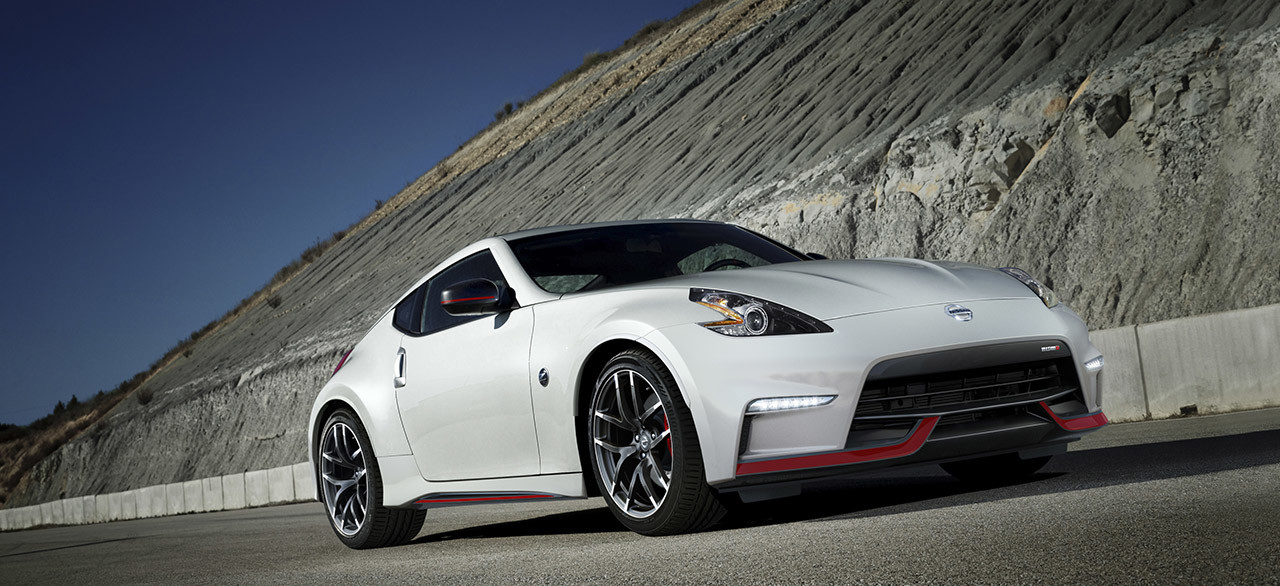 2017 Nissan 370z Coupe Nismo Pearl White Side