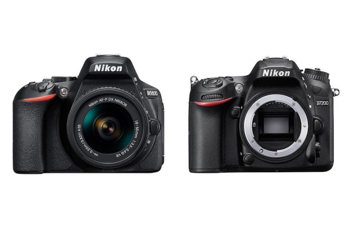 Nikon D5600 vs Nikon D7200 Specifications Comparison