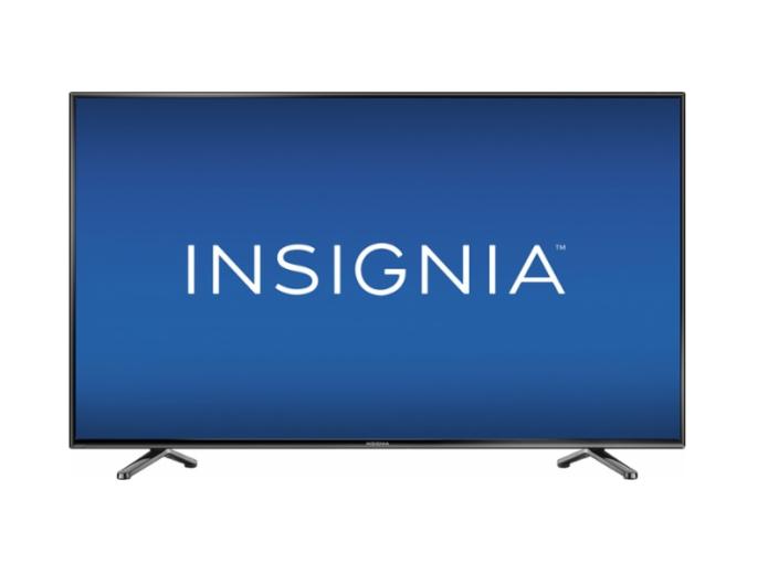 Insignia NS-55D510NA17 HD TV Review : Big Screen Lacks Definition