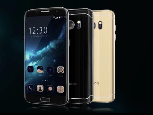 Bluboo Edge VS Iphone 7 Plus Display Effect Review