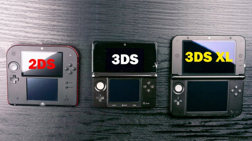 Nintendo 2DS vs 3DS vs 3DS XL : Which console is best ?