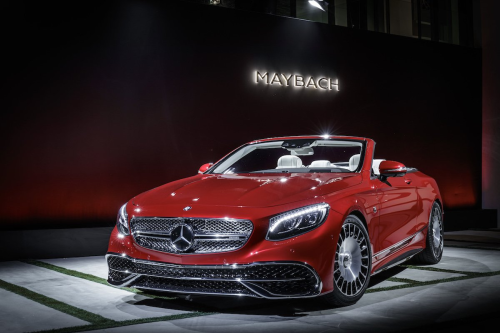 Mercedes-Maybach Cabriolet: The Impossible Dream Priced at $323K