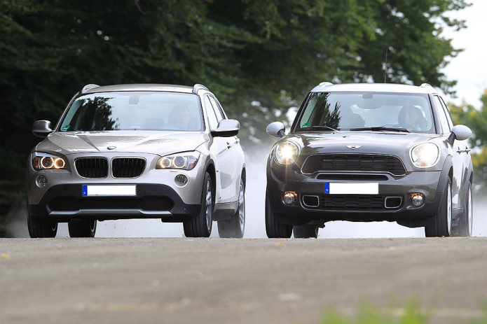 Mini Countryman vs. BMW X1: Buy This, Not That