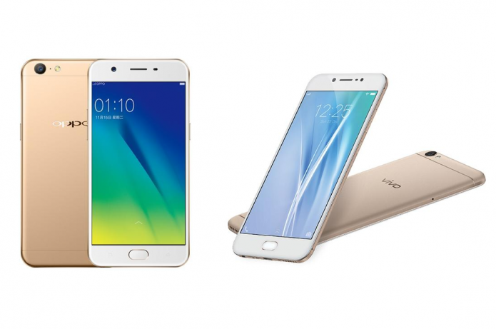 Oppo A57 vs Vivo V5 Specs Comparison