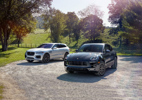 2017 Jaguar F-Pace S vs. 2017 Porsche Macan GTS – Comparison Tests
