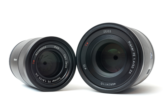 Zeiss FE 50mm f/1.4 Planar vs. Zeiss FE 55mm f/1.8 Sonnar Comparisons