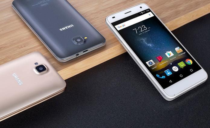 Uhans H5000 vs. Samsung Galaxy S7 – battery test video