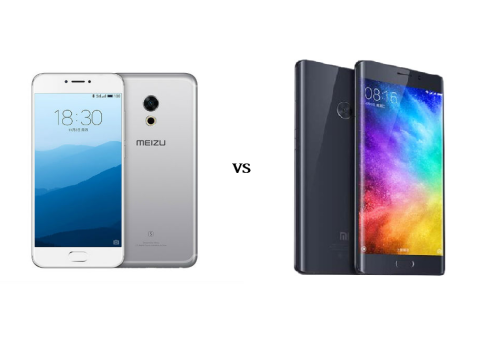 Meizu Pro 6S VS Xiaomi MI Note 2 Full Review