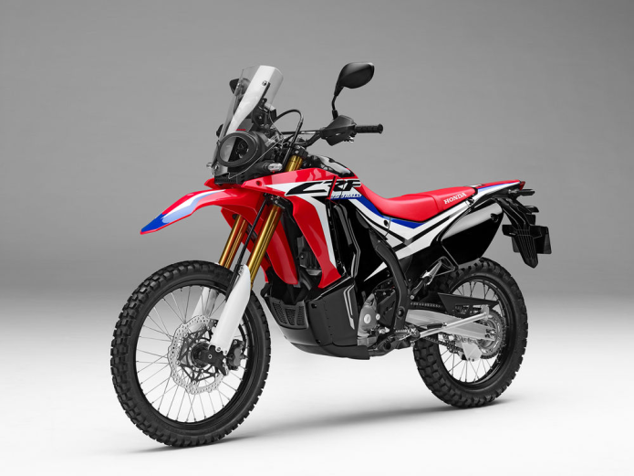 2017 Honda CRF250L Rally Video Preview