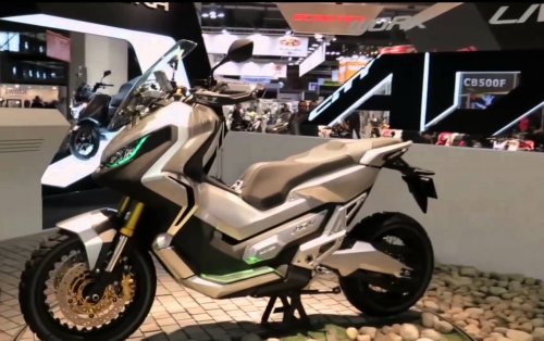 2017 Honda X-ADV Scooter Preview