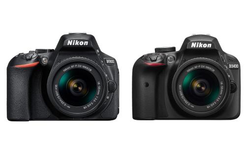 Nikon D5600 vs D3400 Comparison