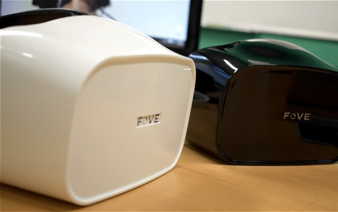 Eyes on with Fove's VR headset : Less virtual, more reality