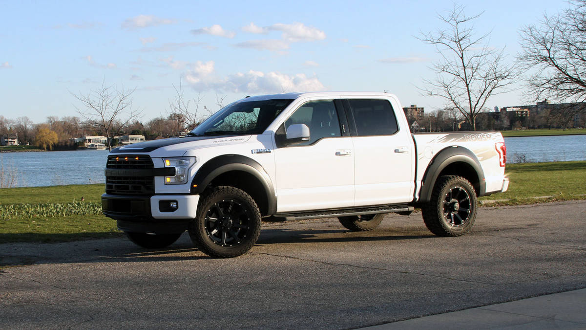 2016 roush f 150 sc review gearopen. Black Bedroom Furniture Sets. Home Design Ideas