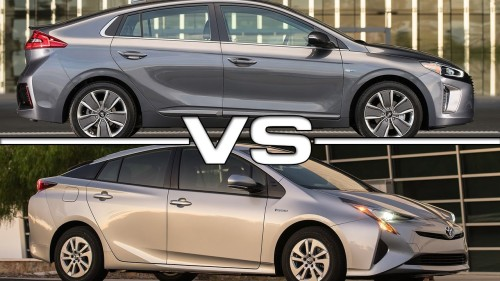 Hyundai Ioniq Hybrid vs. Toyota Prius: 3 Key Differences