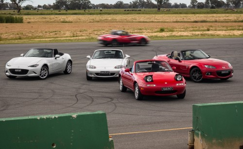 Mazda MX-5 Generations Review : We drive every generation, from NA to ND