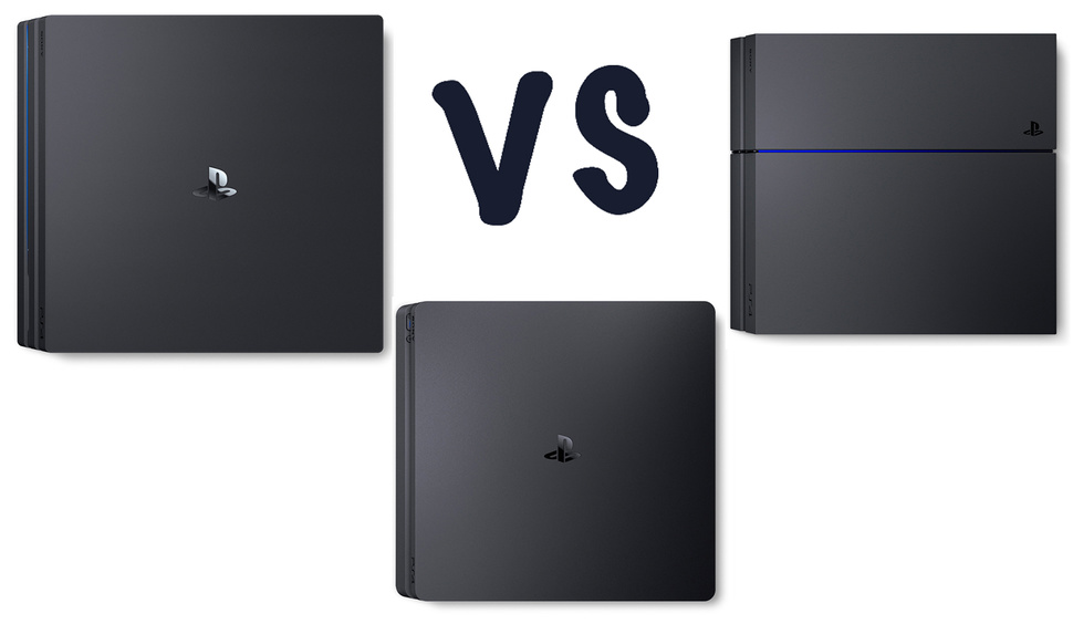 Ps4 Pro Vs Ps4 Slim Vs Ps4 What S The Difference Gearopen