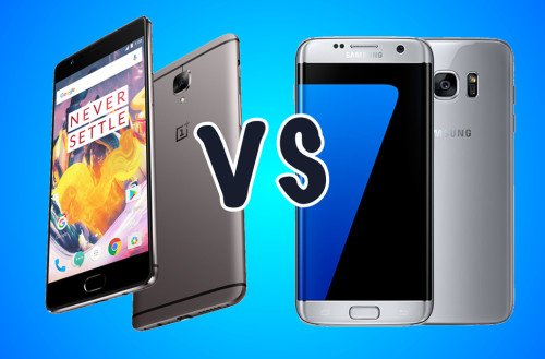 OnePlus 3T vs Samsung Galaxy S7 edge: What's the difference?