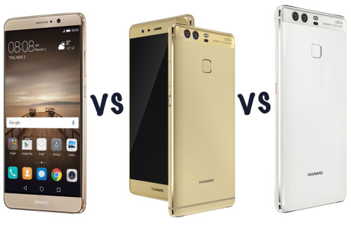 Huawei P9 vs Huawei P9 Plus vs Huawei Mate 9: What's the difference?